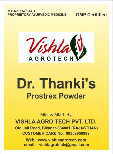 Dr Thankis Prostrex Powder