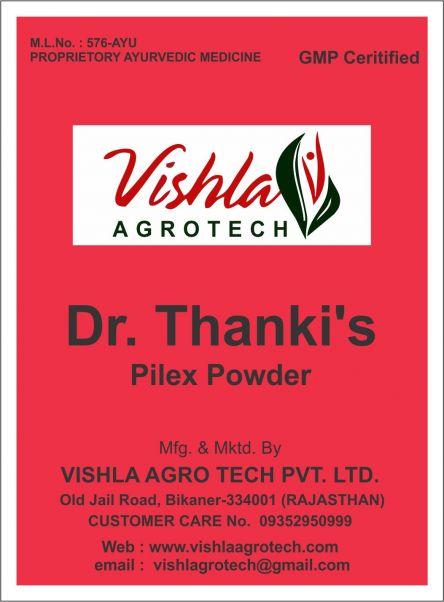 Dr Thankis Pilex Powder
