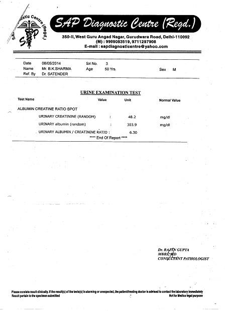 BHUVNESH-KUMAR SHARMA-50Yrs-Cortical-Echotexture-of-Both-Kidneys-Increasde-BIlateral-Medical-Renal Disease-Diabetic-NIIDM-Patient-report-8