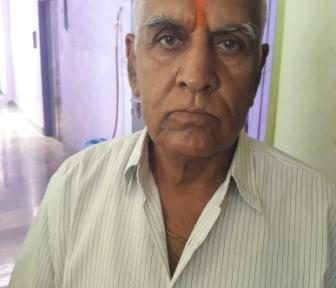 Madan Lal_Age 71 Years_ Larynx Cancer